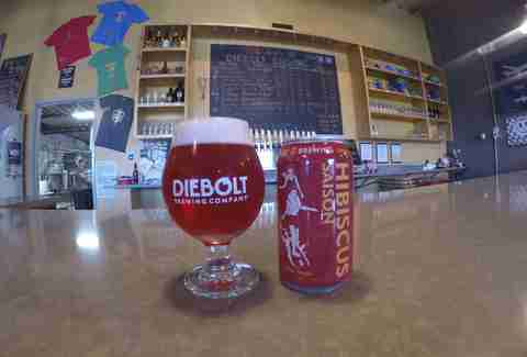 Beer at the Diebolt Brewing Company