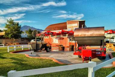 exterior view of Copper Top BBQ
