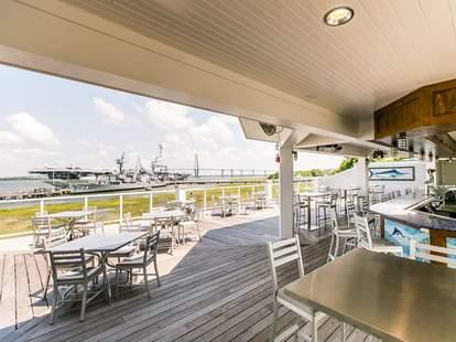 Dockside at the Charleston Harbor Fish House