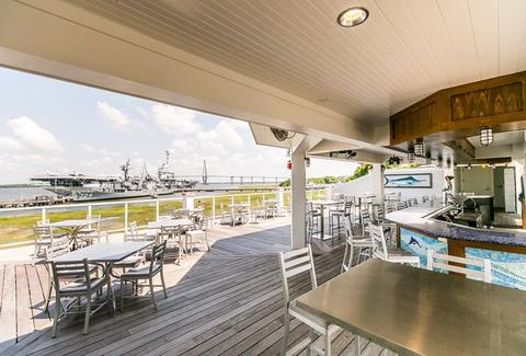 Dockside at the Charleston Harbor Fish House