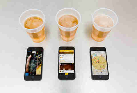 Untappd and other beer apps