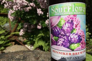 Sour Flower beer at the Henniker Brewing Co.