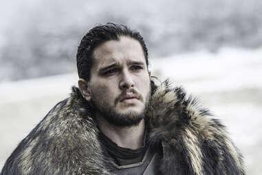 Kit Harington as Jon Snow in Battle of the Bastards