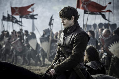Iwan Rheon as Ramsay Bolton in Battle of the Bastards