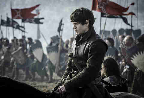 Iwan Rheon as Ramsay Bolton in Battle of the Bastards