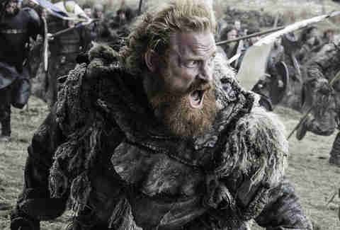 Kristofer Hivju as Tormund Giantsbane in Battle of the Bastards