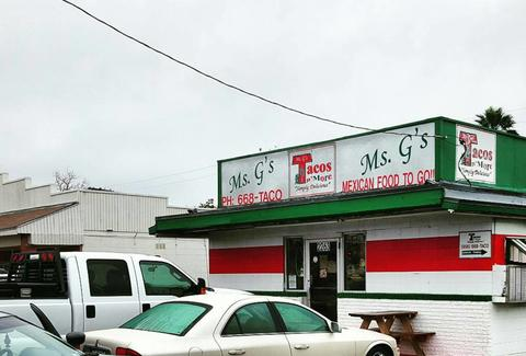 Ms. G's Tacos in Texas