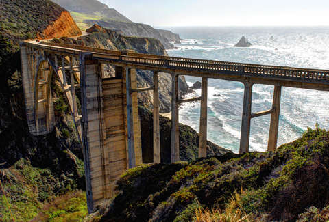 Bixby Bridge in SF