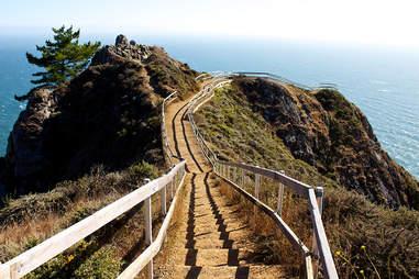 Muir Beach Overlook in California