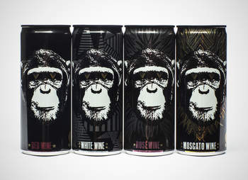 Infinite Monkey Theorem canned wine