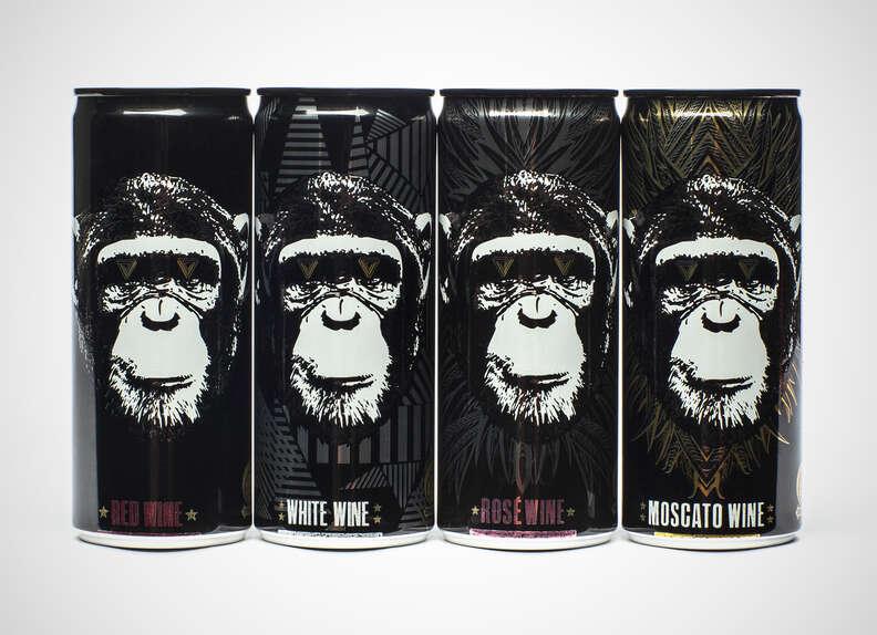Infinite Monkey Theorem canned wine