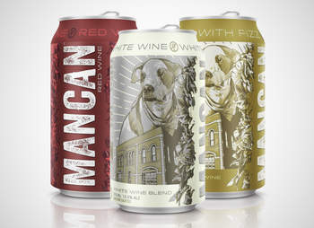 mancan fizz canned wine