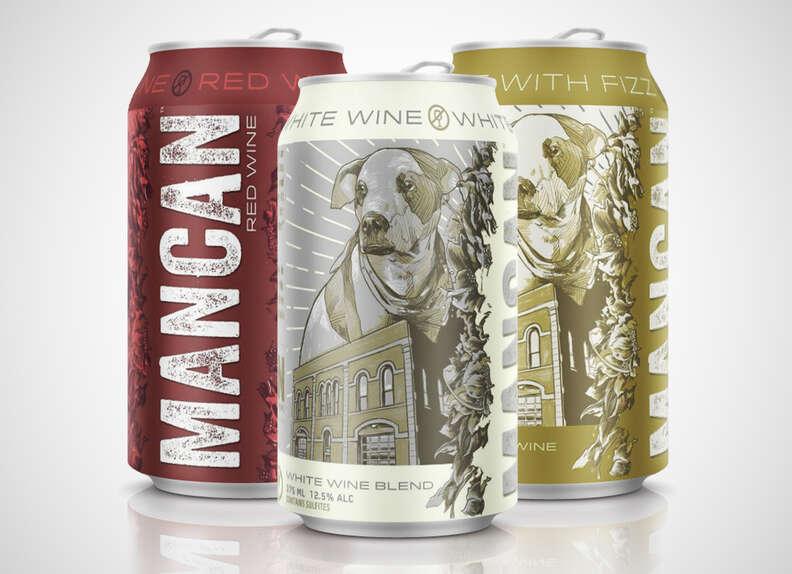 mancan fizz canned wine