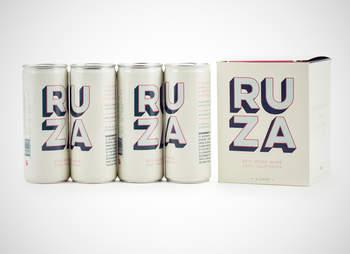 Ruza canned wine