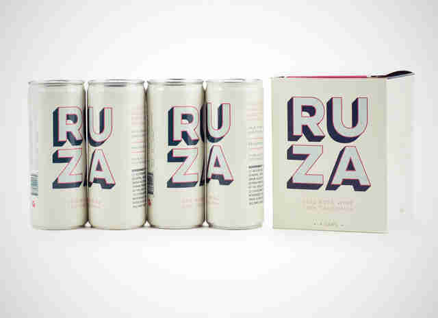 Ruza canned wine