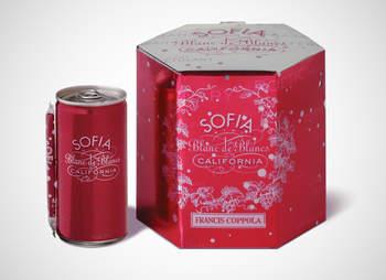 Sofia canned wine