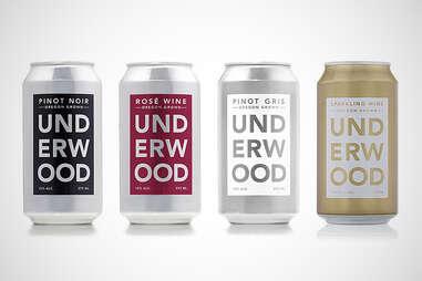 Underwood canned wine