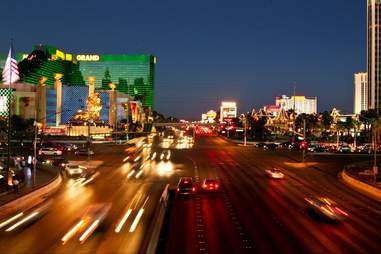 Las VEgas traffic flow