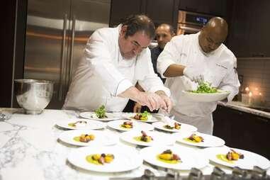 Emeril Lagasse celebrity chef plating