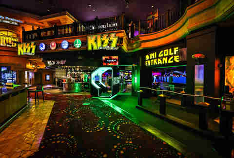 KISS Mini golf las vegas
