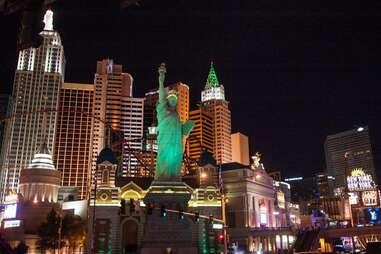 Statue of liberty replica Vegas