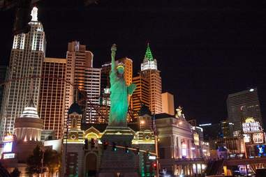 Statue of liberty replica Vegas