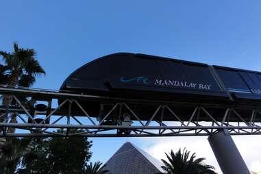 Shuttle train Mandalay Bay