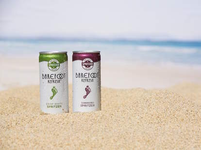 Barefoot canned wines