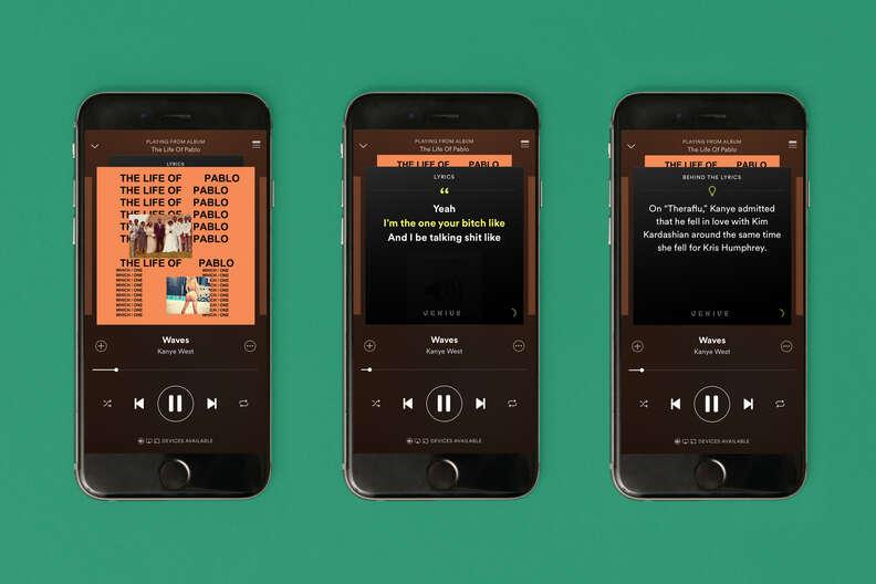 iphone 6 feature spotify lyrics feature