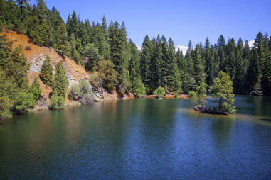Lake Shasta in California