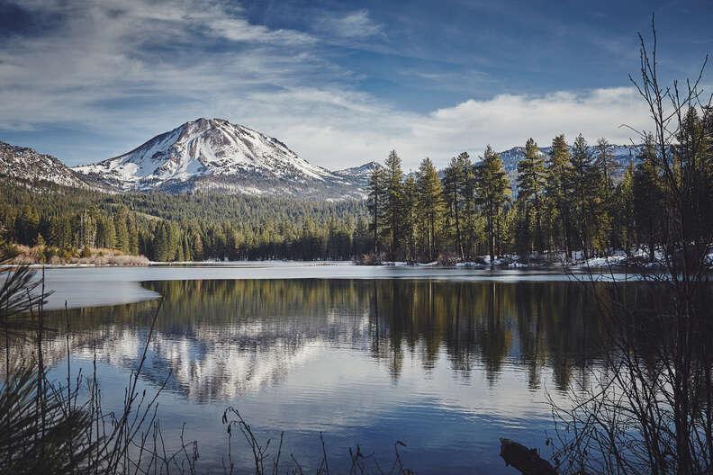 Mount Lassen in California