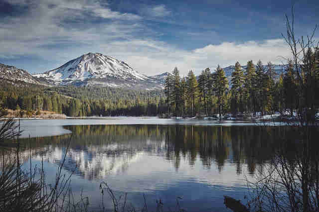 Mount Lassen in California