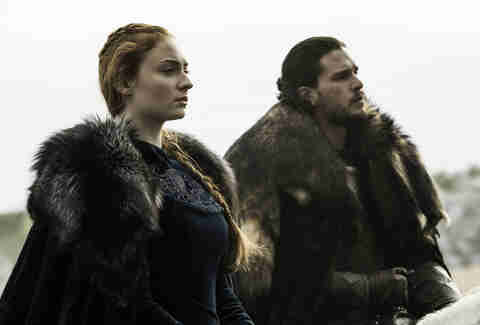 sansa and jon kill ramsay bolton game of thrones