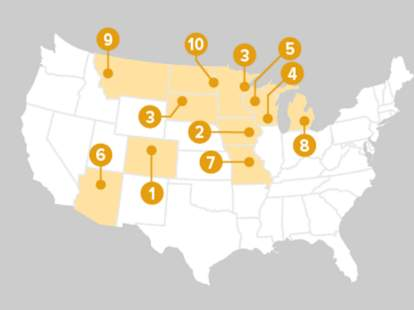 Least Stressed Cities