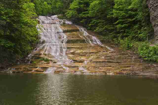 Buttermilk Falls in New York