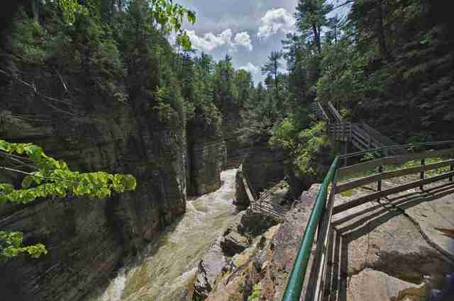 Ausable Chasm in New York