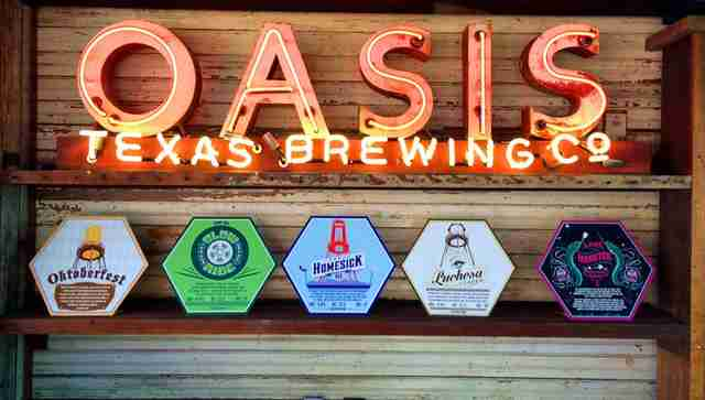 Oasis, Texas Brewing Company