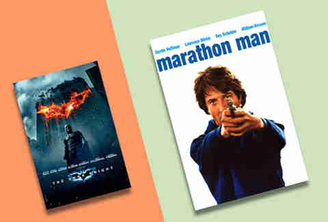 the dark knight and marathon man