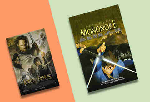 lord of the rings and princess mononoke