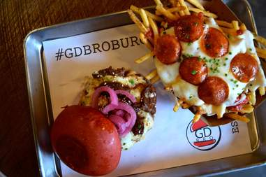 GD Bro Burger los angeles