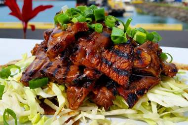 Kalbi beef at Nico's Pier 38