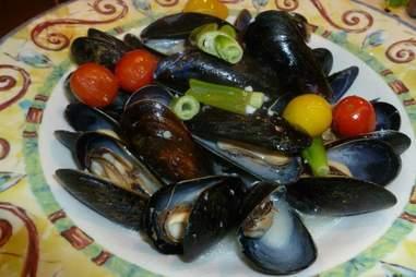 Mussels at Il Capriccio in Waltham, MA