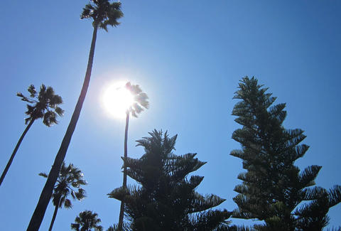 Sun, Los Angeles, Hot