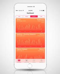 health app in phone 6