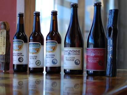 cismontane bottle selection