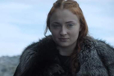 sansa at the battle of the bastards in game of thrones