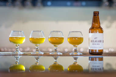 allagash brewing house beer, maine