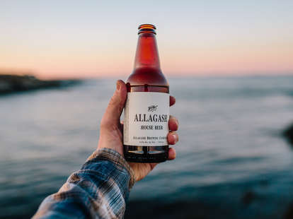 allagash house beer, maine