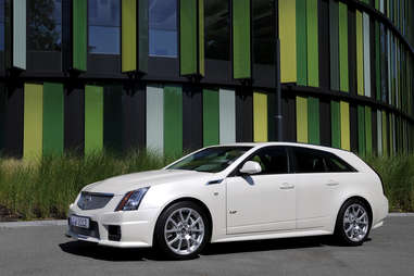 The 2014 Cadillac CTS-V Sportwagon
