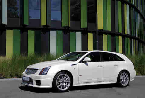The 2014 Cadillac CTS-V Sportwagon